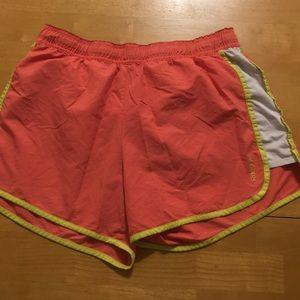 Reebok pink shorts